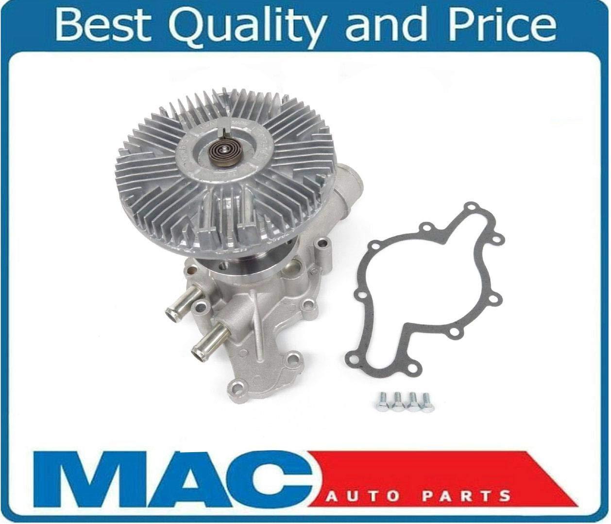 Mac de auto partes 144007 nos Motor funciona nuevo ventilador de bomba de agua y embrague V8 5.0L: Amazon.es: Coche y moto