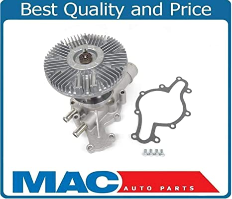 Mac de auto partes 144007 nos Motor funciona nuevo ventilador de bomba de agua y embrague