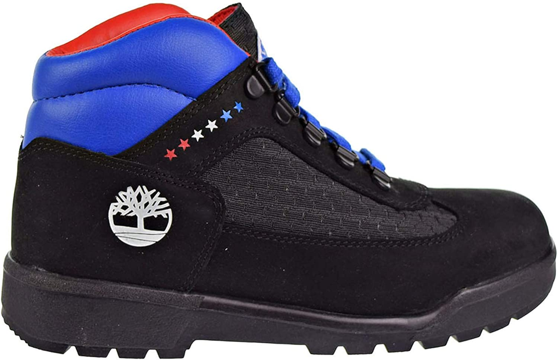 Big Kid Black Fabric//Leather 4 Big Kid M Timberland Kids Boys Philadelphia 76ers Field Boot