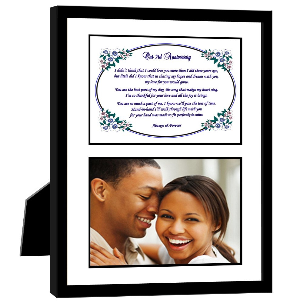 44-903 Add Photo Poetry Gifts poetrygifts Wife Love Poem for Third Year Romantic 3rd Husband