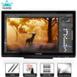 Huion Kamvas GT-220 V2 Black Graphics Drawing Tablet Monitor 21.5 Inch HD Pen Display with 8192 Levels Pressure Sensitivity for Windows and Mac