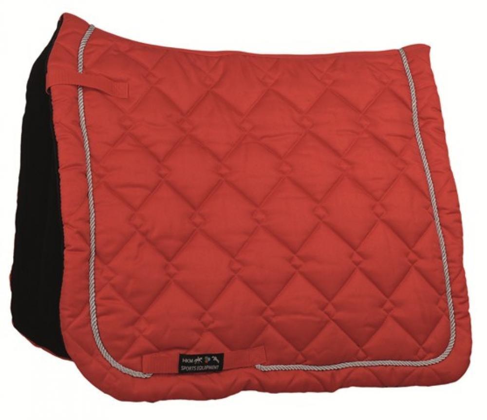 HKM Saddlecloth Gently Dressage - Red, L 560024