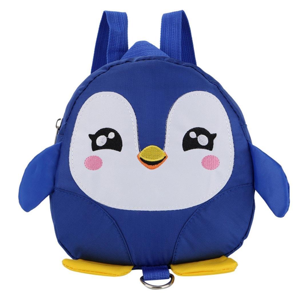 Kids Boys Girls Cartoon Dinosaur Plush Backpack School Bags Toddlers Rucksack UK