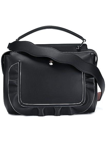 233738933b Fendi Women s 8Bn293s3cf03k1-Mcf Black Leather Shoulder Bag  Amazon.co.uk   Clothing
