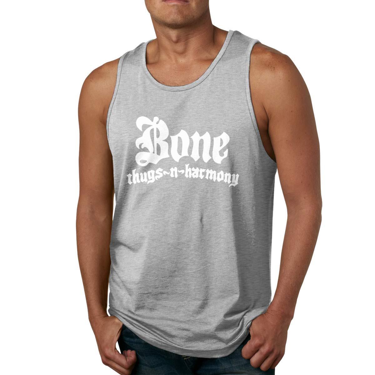 Macwe Bone Thugs N Harmony Training Sleeveless Summer Sport Shirts