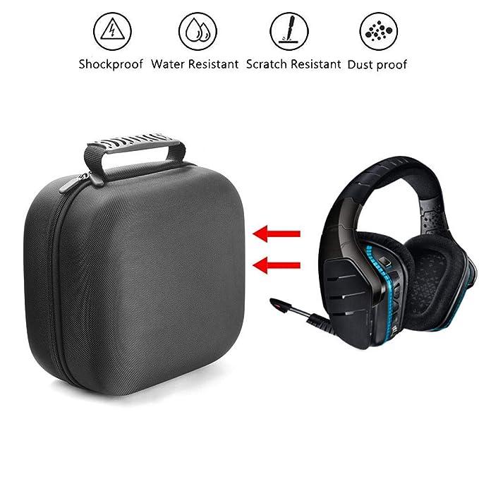 SamMoSon 2019 Auriculares Bluetooth Inalambricos Deportivos,Estuche Portátil para Auriculares Logitech G933 Artemis Spectrum Wireless 7.1 para Juegos: ...