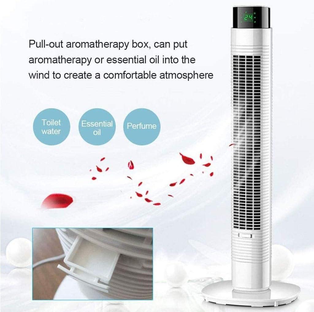 LIFEIYAN Oscillerende Tower Ventilator Met Remote Control - Air Multiplier 3 Snelheden & Wind Modes En Timer For Thuis En Op Kantoor bureauventilator (Color : 110cm) 80cm imBb7ayh