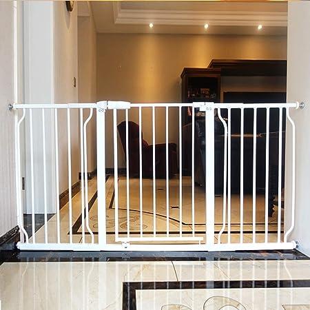 Punch Gratuito de Seguridad for niños Puertas de barandas, Cerca de la Escalera Corredor Mascotas Puerta del bebé, Extensible Puerta Cerca de Aislamiento (Color : Height 78cm, Size : 134-145.9cm): Amazon.es: Hogar