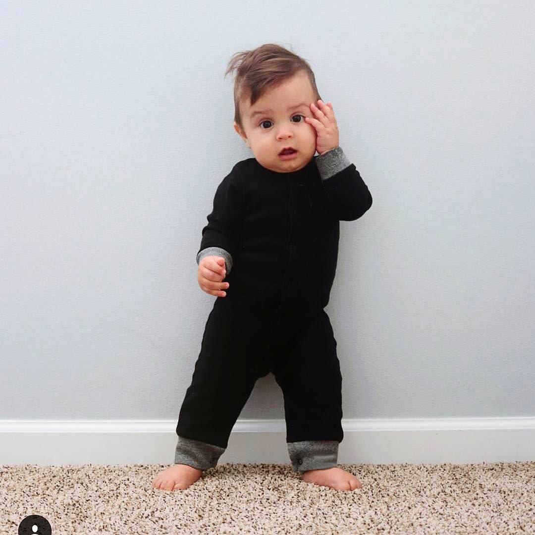 Mays Infant Toddler Halloween Baby Kids Cute Pumpkin Costume Polar Fleece Comfy Jumpsuit