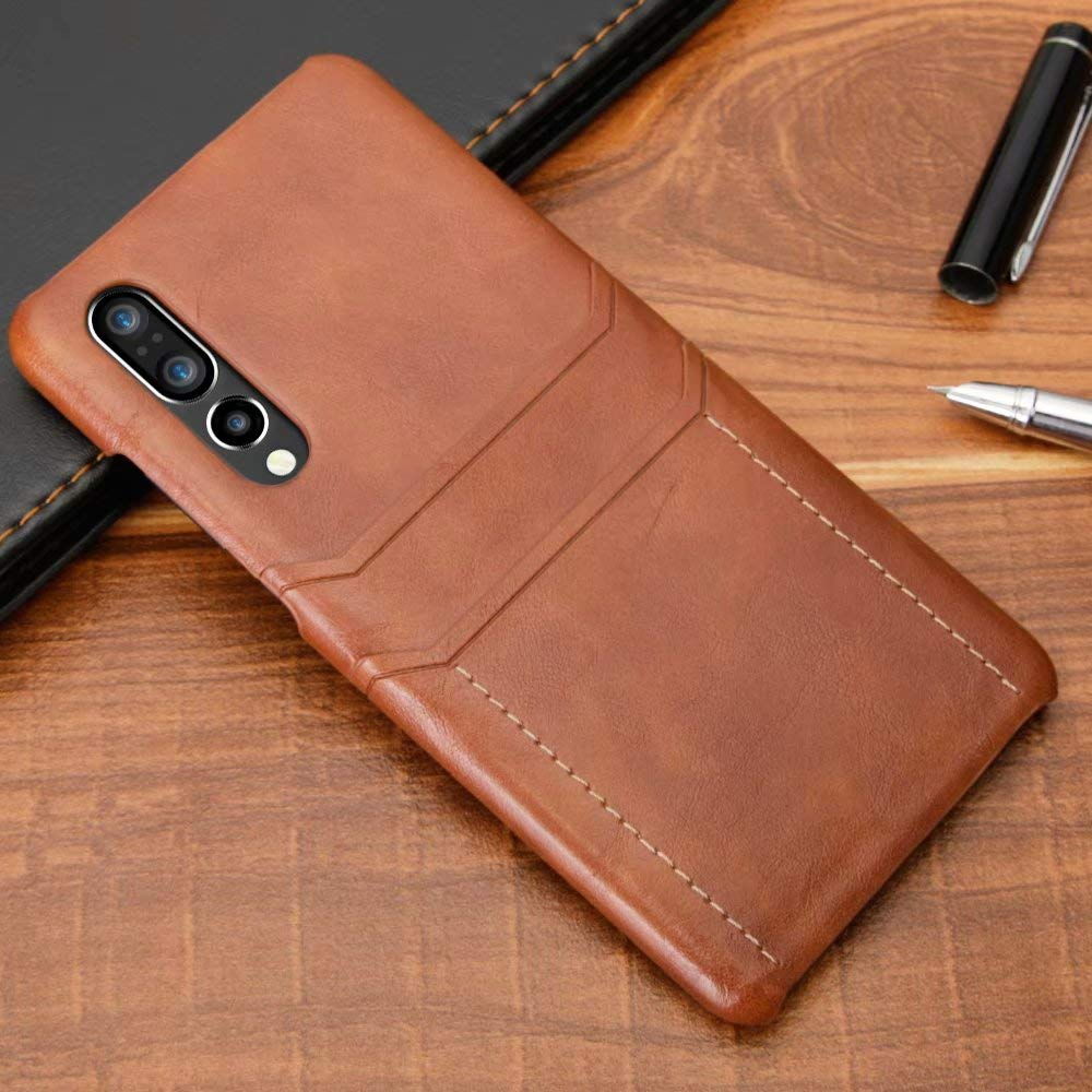 Amazon.com: Funda para Huawei P30 Lite, Bpowe Vintage Cuero ...