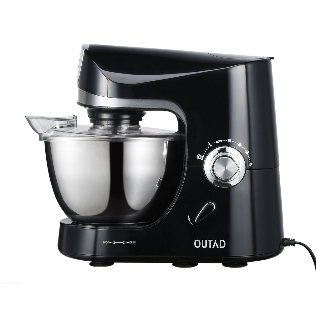 OUTAD Stand Mixer 120V/650W 4.75-Qt Bowl 10 Speed Kitchen Electric Mixer Machine (Stand Mixer)