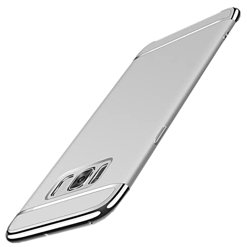 Vanki Custodia per Samsung Galaxy S8, 3 in 1 Hard PC Ultra Sottile Placcatura Anti-Scratch Bumper Pr...