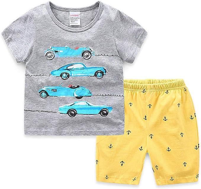 Pijamas Dos Piezas Bebe Niño, Morbuy Conjunto de Pijamas Niña ...