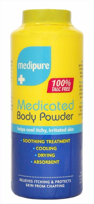 Medipure Medicated Body Powder 100% senza talco 200g free consegna veloce BETAGLAM