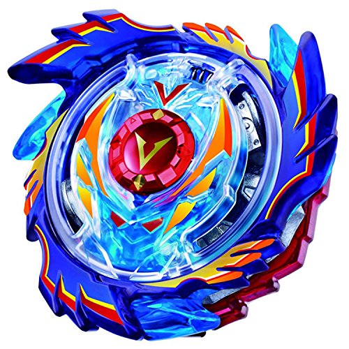 Fairysu Cool Burst Alloy Fusion Launcher Beyblade Spinning Top Kids Game Toys with Launcher Sticker Children Gift (B73, One Size)