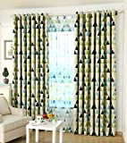 Cheap GYROHOME Tartan Lozenge Blackout Curtain Thermal Insulated Washable Drape Noise Reducing No Formaldehyde
