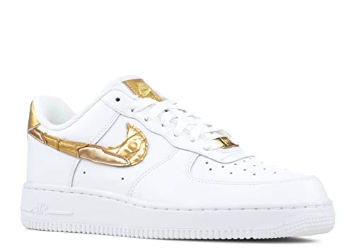 NIKE Sneakers Men AIR Force 1 AOP Premium in Green Leather