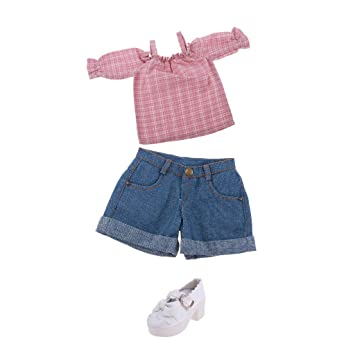 321f71033b804e Buy 1 3 BJD Smart Dolls Clothes Top Jeans Trousers Shoes for Dollfie DOD SD  DD Cuffed Shorts Casual Outfit Online at Low Prices in India - Amazon.in
