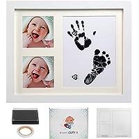 LEADSTAR Baby Handprint Kit & Footprint Frame Kit, Newborn Baby Boys Girls First Year Picture Album Frame Set, Keepsake…