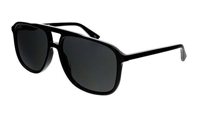 Gucci GG0262S Plastic Aviator Sunglasses 58 mm