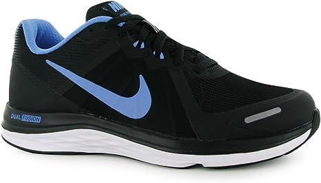 anfitrión melocotón planes  Nike Dual Fusion x2 Scarpe da Corsa Donna Nero/Blu Fitness Ginnastica,  Black/Blue: Amazon.it: Sport e tempo libero