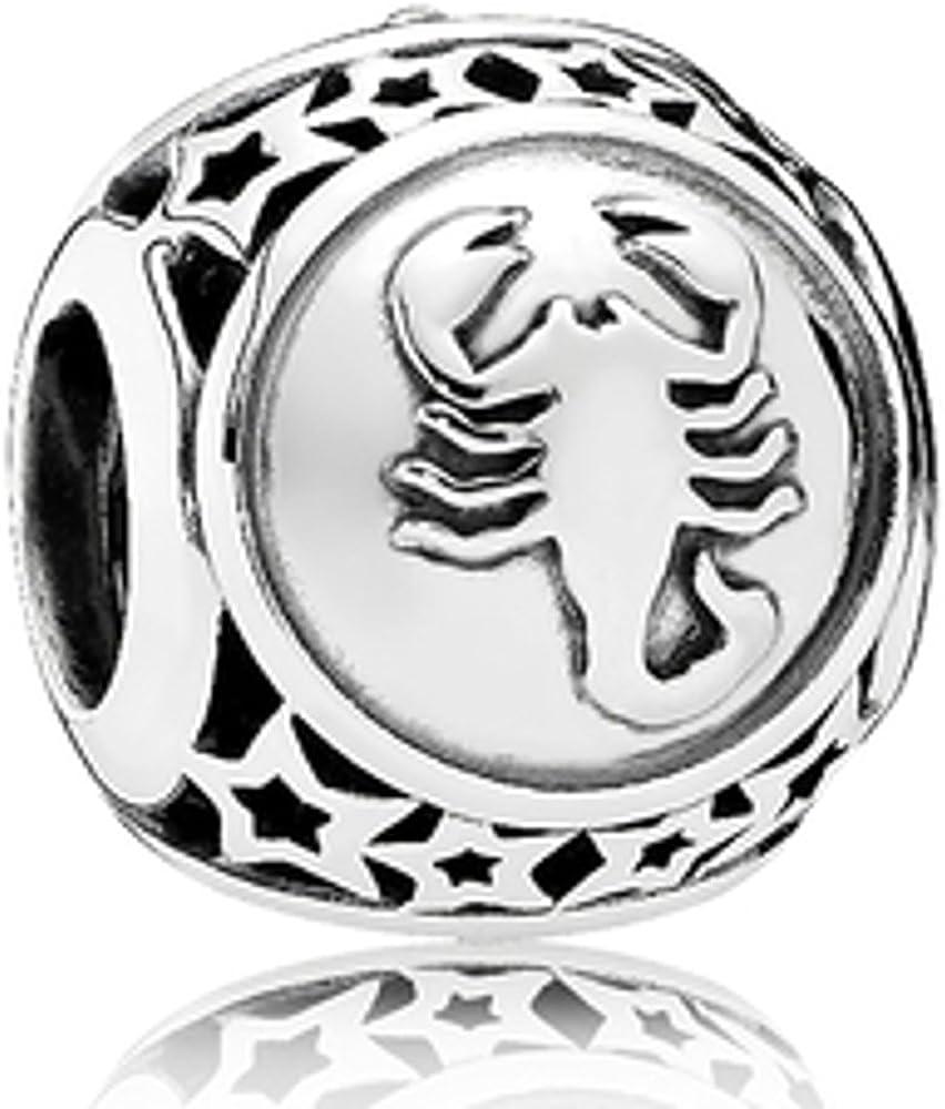 charm pandora segno zodiacale scorpione