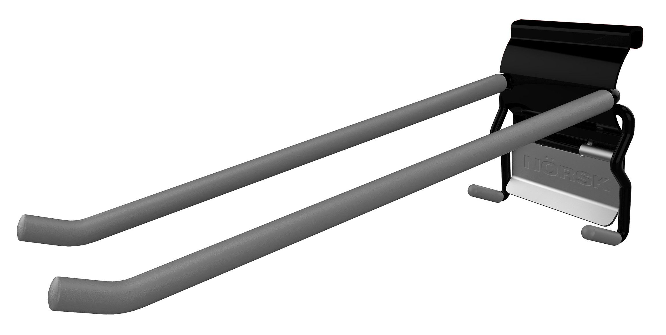 NorskWall 10'' Quad Slat Wall Hook 2 Pack