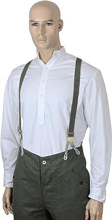 Epic Militaria Réplica WW2 Alemán Oficiales Camisa Blanca: Amazon.es: Ropa y accesorios