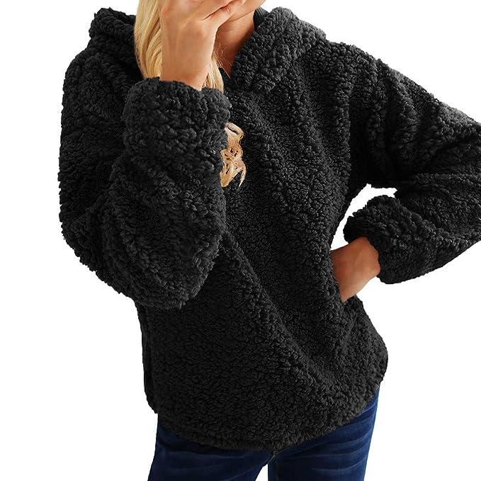 Pullover Winter Reaso Frauen Hoodie Sweatshirt Damen Weste Jacke Mantel  Vintage Parka Winter Cardgian Warme Mäntel 28961c3cba