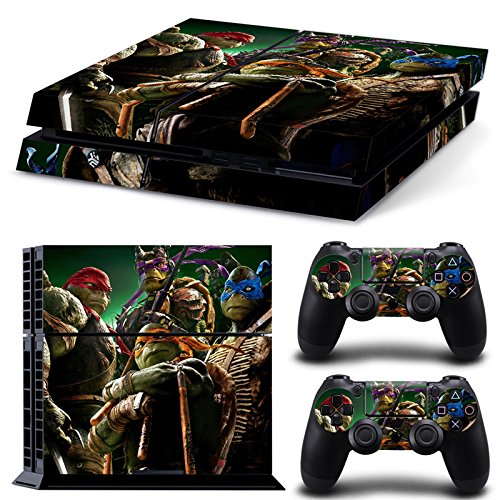 Ninja Turtles Game Skin Sticker Cover Set for PS4 Playstation 4 Console and Controller (Ninja Turtles Ps4 compare prices)