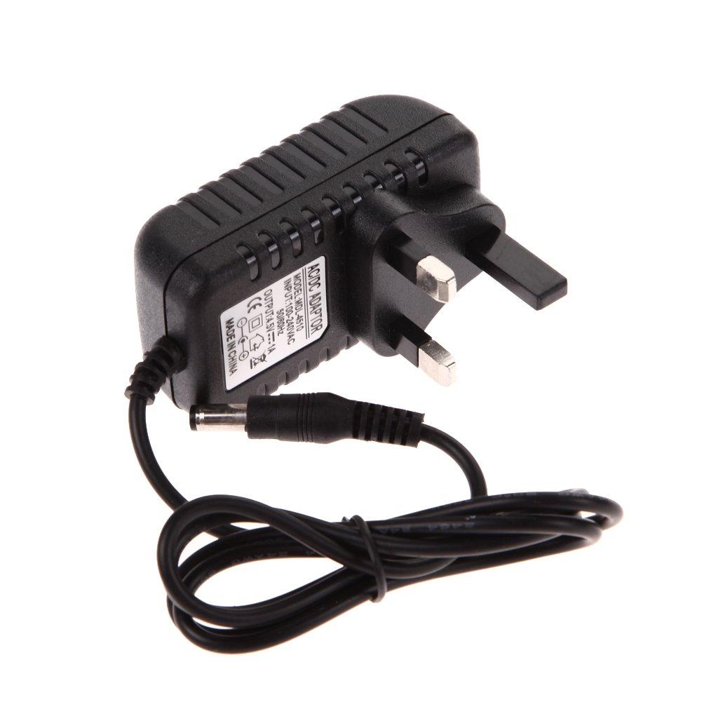 AC 100-240V 100CM Converter Adapter DC 6V 1A 1000mA Power Charger UK Plug Power