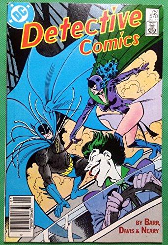 Detective Comics (1937) #570 VF- (7.5) Batman Joker Catwoman Robin