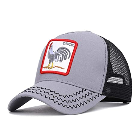 RFVTGB Gorra De Béisbol Vintage Gallo Gallo Animal Bordado Hip Hop ...