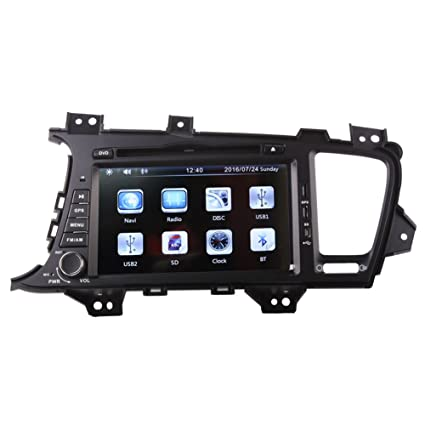 Amazon com: 8 Inch Touch Screen Car GPS Navigation for KIA OPTIMA