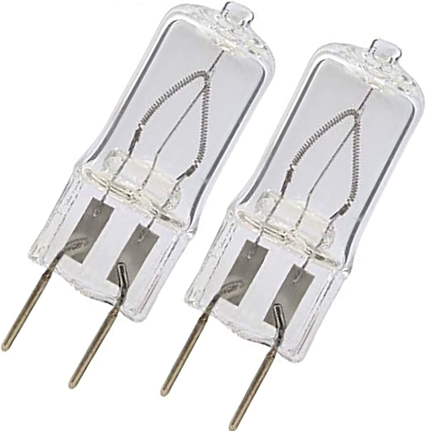 BULBLY 2pack WB25X10019 20W Halogen Lamp Bulb 20W G8 Bi-Pin Base Replacement for GE Microwave