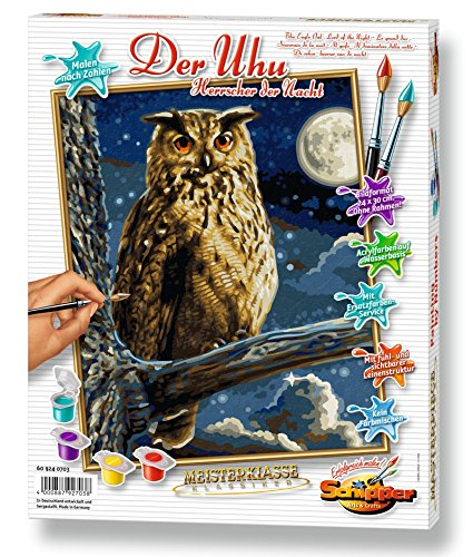 Schipper Eagle Owl Paint-by-Number Kit
