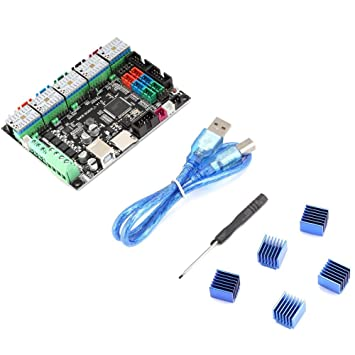 ASHATA Accesorios de Impresora 3D MKS SGen-L Motherboard + ...