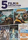 5 Film Collection - Fantasy Adventure (The Neverending Story I & II / Pan / Journey to the Center of the Earth / Journey 2 the Mysterious Island)