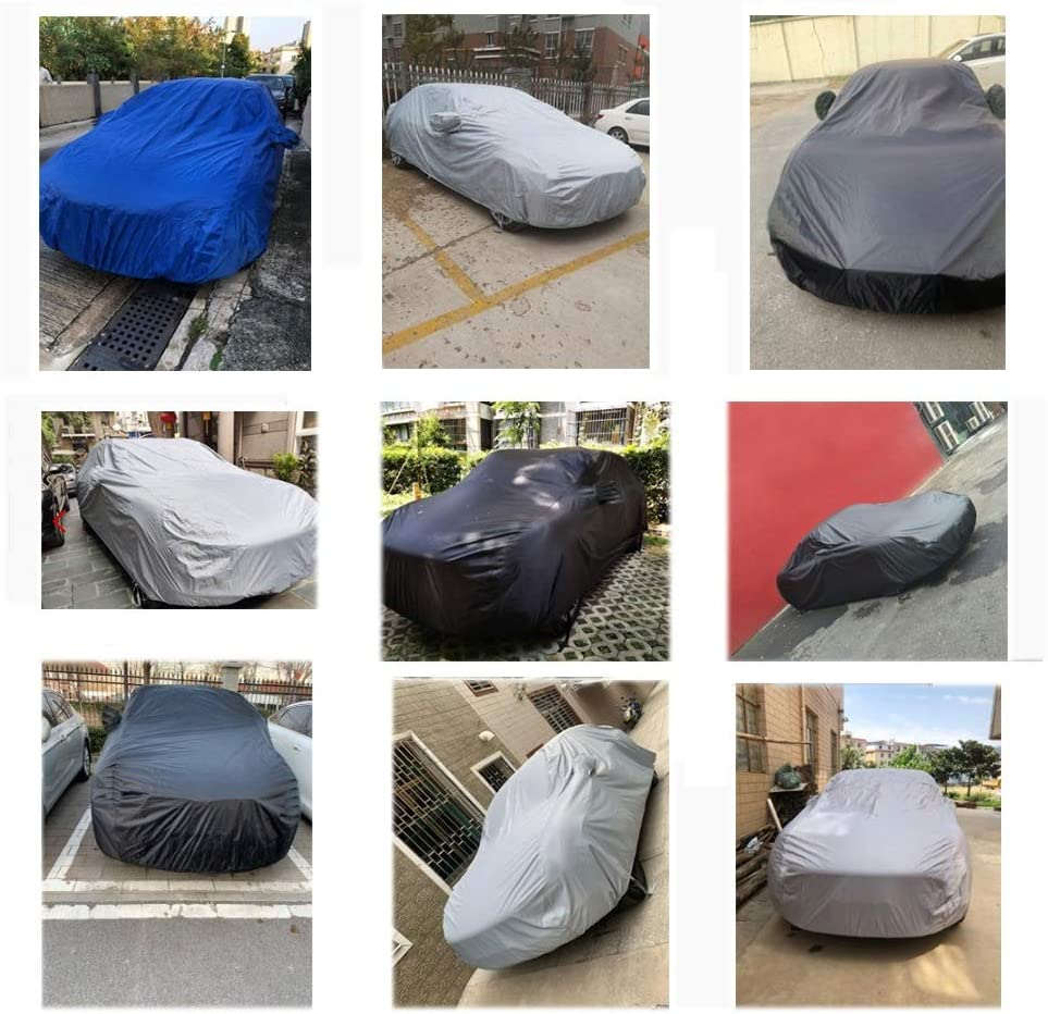 Color : Blue , Size : Macan Car cover Porsche Boxster,Porsche 918,Porsche Cayman,Macan,Panamera Special Car Cover Car Clothing Thick Oxford Cloth Sun Protection Rain Cover Car Cloth Car Cover