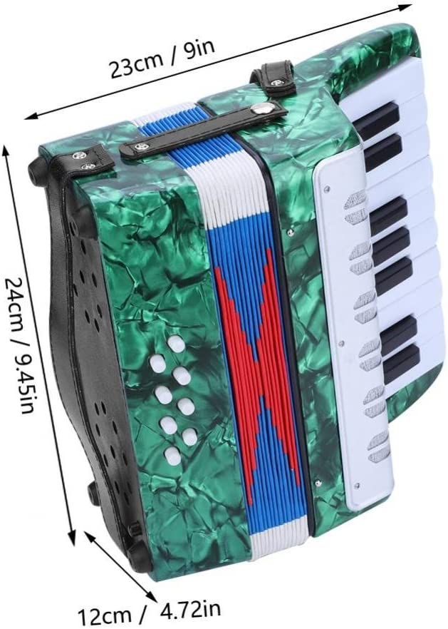 17 Key 8 Bass Piano Accordion with a Manual Suitable for Beginners