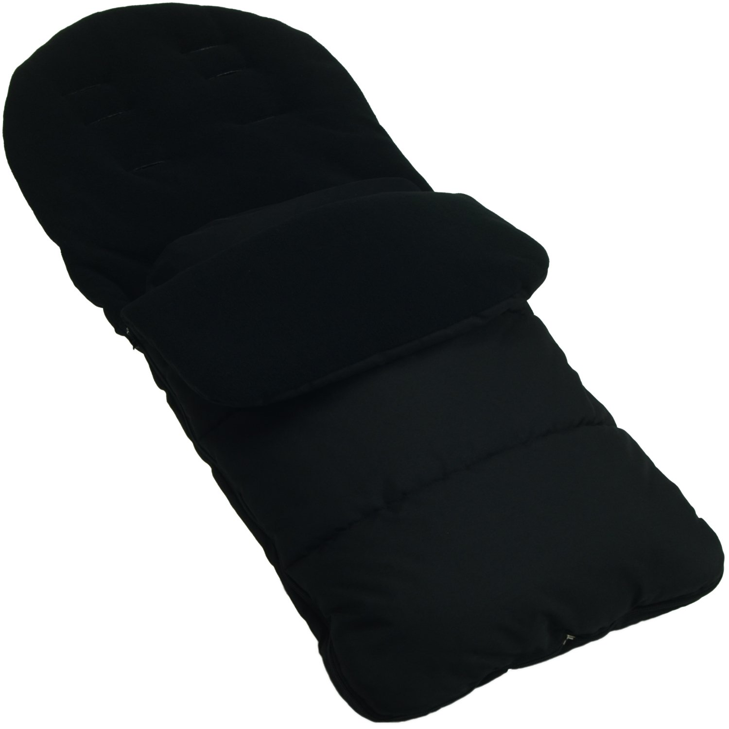 Cosy Toes Compatible with Bugaboo Bee Cameleon DonKey Buffalo Black Footmuff