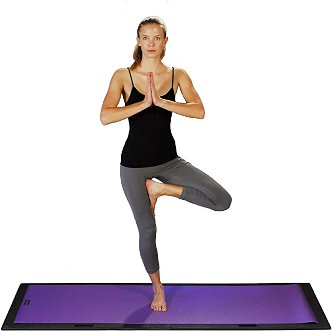 Lifeboard - Portable Floor to Enhance Yoga, Pilates or Ballet Barre Exercise At Home on Carpet or Outdoors