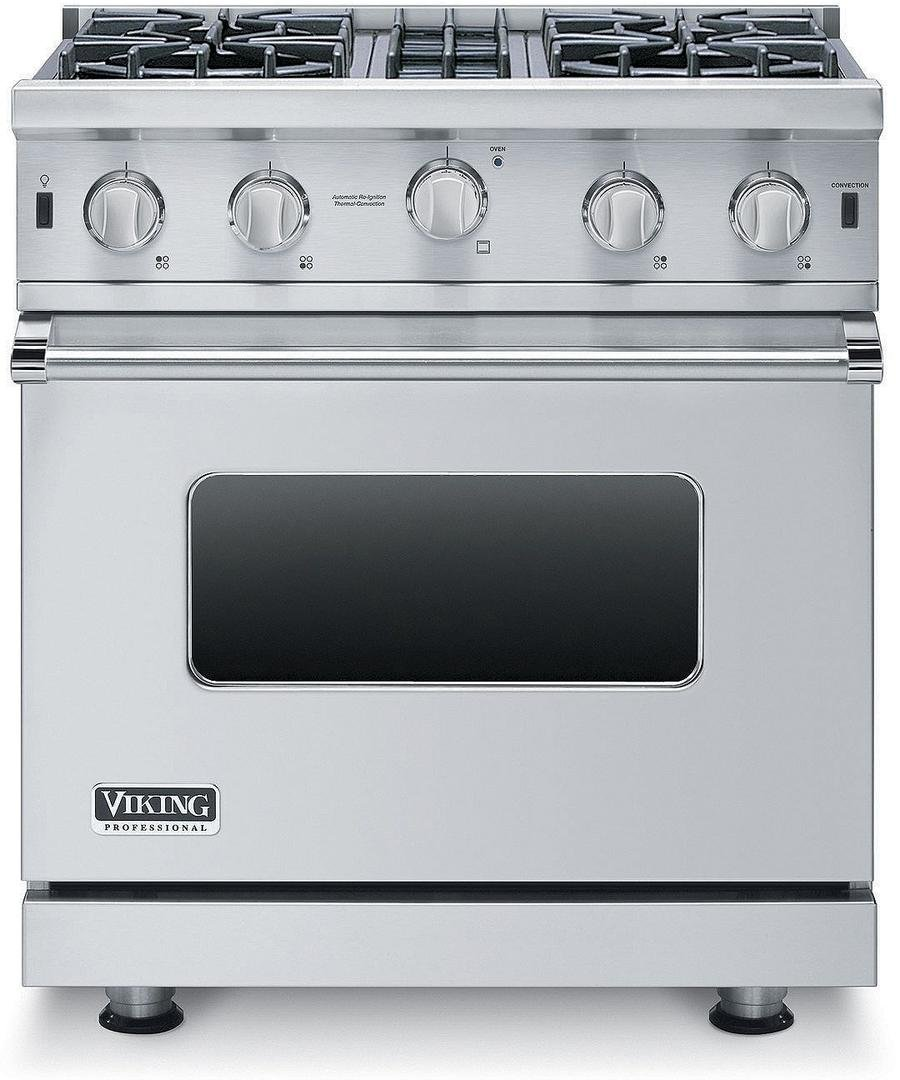 Viking VGIC53014BSS 5 Series 30 Inch Freestanding Gas Range with 4 cu. ft. Primary Oven Capacity in Stainless Steel