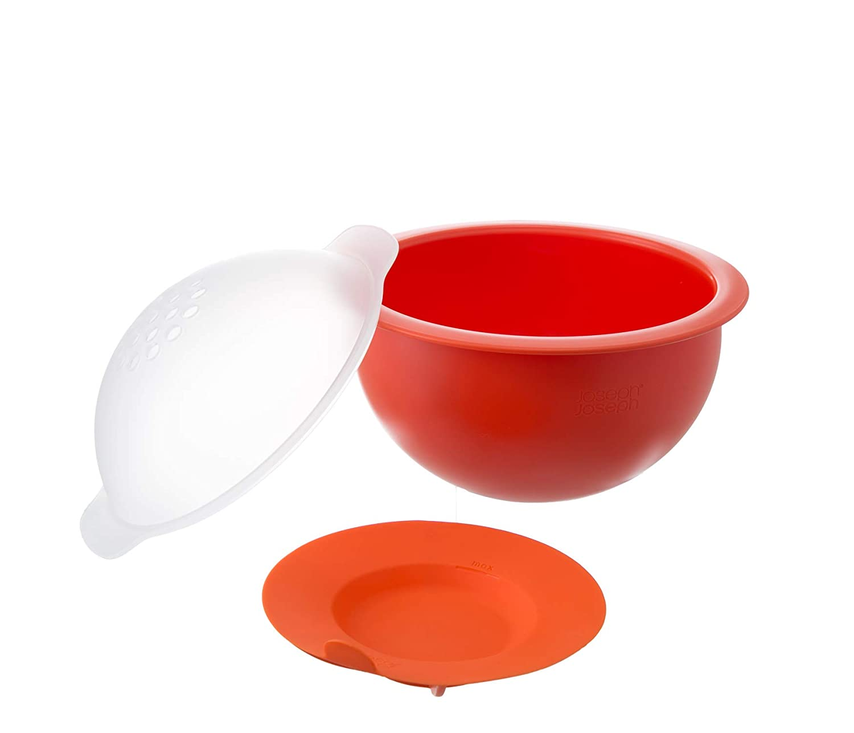 Joseph Joseph m-Cuisine Familia Tamaño Palomitero, de plástico, Naranja: Amazon.es: Hogar