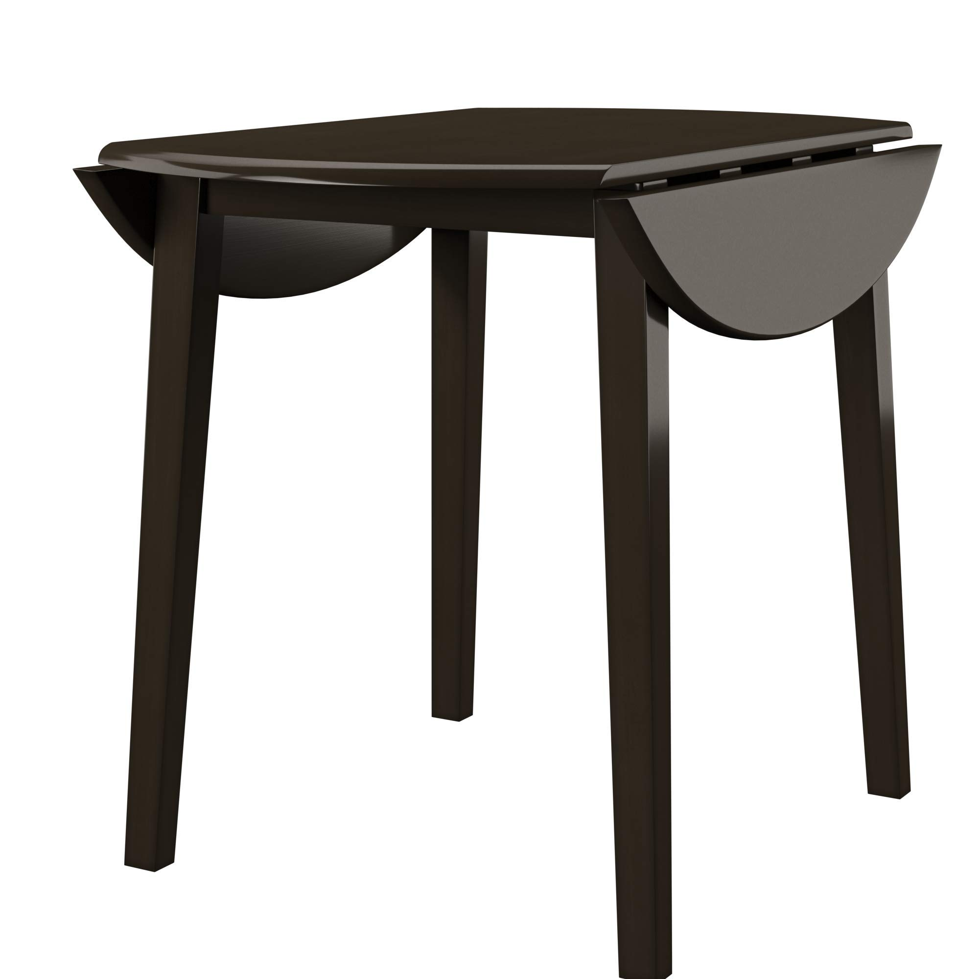 Ashley Furniture Signature Design - Hammis Dining Room Table - Drop Leaf Table - Dark Brown by Signature Design by Ashley