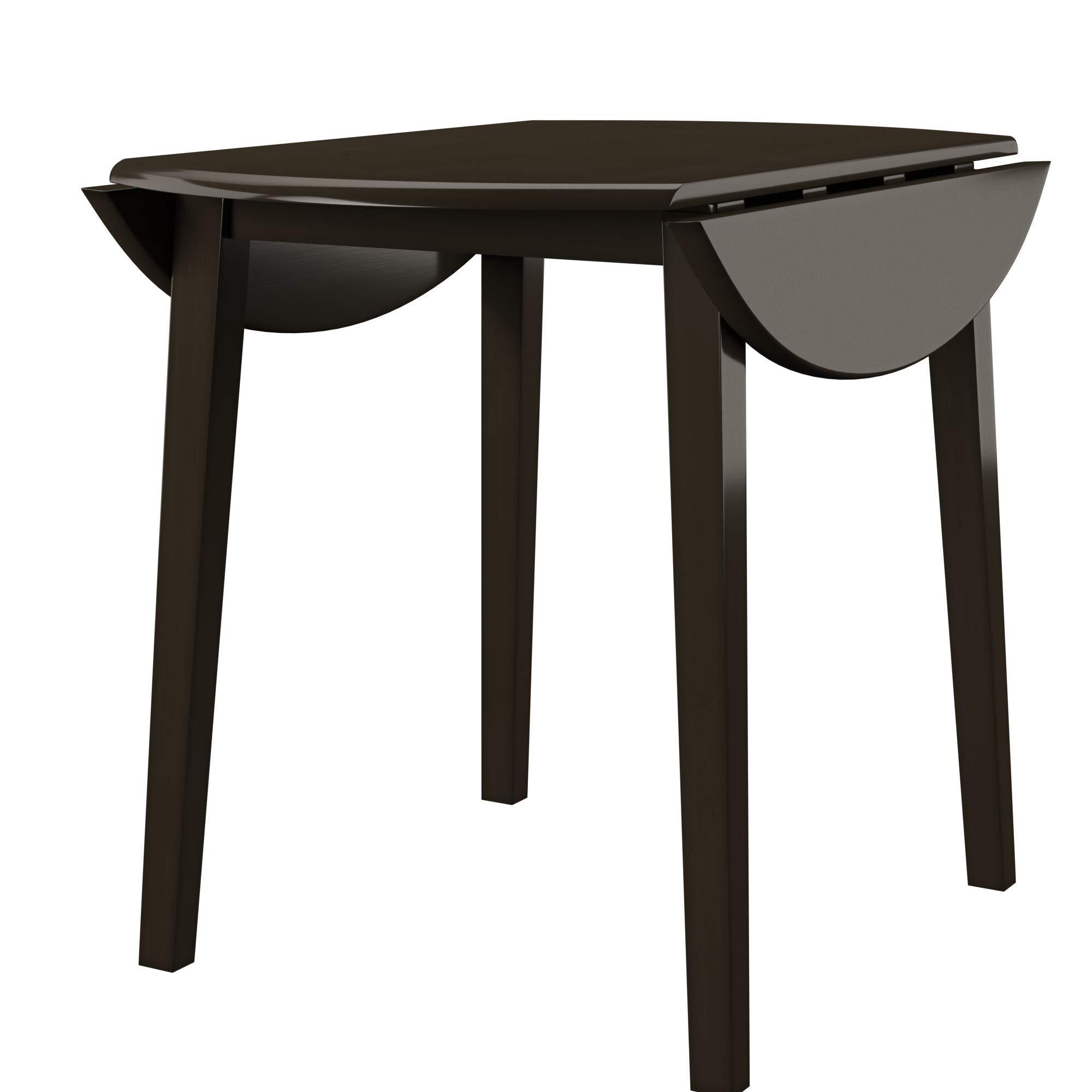 Ashley Furniture Signature Design - Hammis Dining Room Table - Drop Leaf Table - Dark Brown