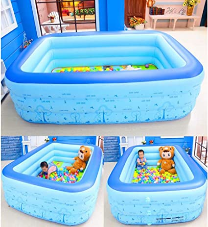 JUEJIDP Baby Safety Crawling mat ▏ Indoor Child Protection Fence ▏ Baby Home Game Toddler Fence ▏ Anti-Fall Inflatable Fence Kids Playpen