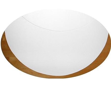 Novaservice - Protector de mesa redonda antideslizante cm Corte de ...