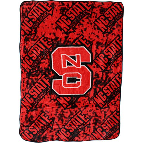 Nc State Wolfpack Merchandise - College Covers North Carolina State Wolfpack Throw Blanket/Bedspread
