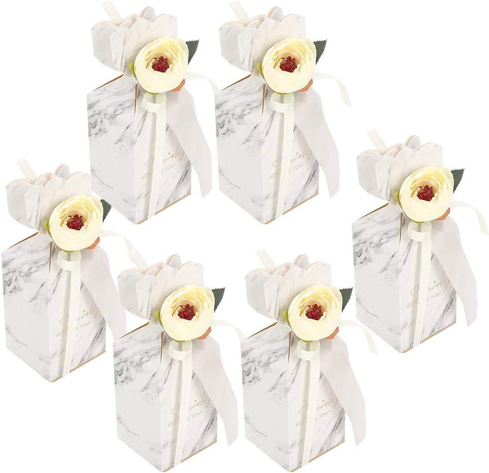 Pbzydu práctico para Usar Caja de Regalo de Boda, Caja de Dulces, cumpleaños para Fiestas, Viajes, conmemoración, Chocolates navideños